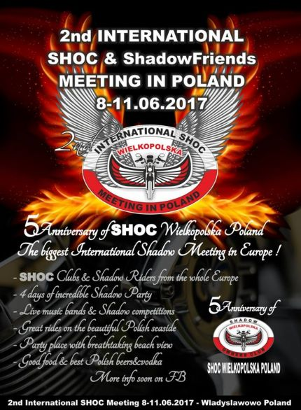 170608 >>>>2nd International SHOC&Shadow Meeting in Poland -- 8. - 11.06.2017